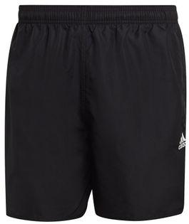 Spodenki męskie kąpielowe adidas Short Length Solid Swim czarne GQ1081 S