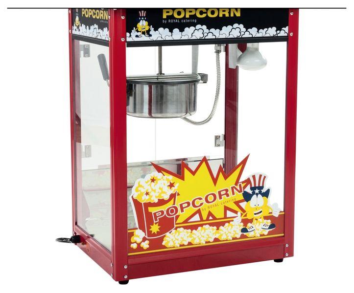 Maszyna do popcornu - czarny daszek Royal Catering RCPS-16E zdjęcie 6