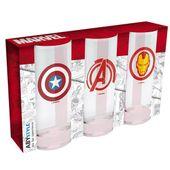 """MARVEL - Zestaw Szklanek """"Avengers Captain America & Iron Man"""""""