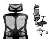 FOTEL ERGONOMICZNY obrotowy biurowy PREMIUM V-BASIC czarny