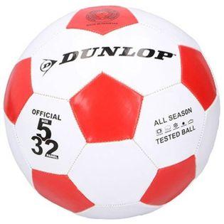 Dunlop - Piłka do nogi 23 cm (Czerwona)