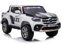 Auto na Akumulator XMX606 Mercedes X Policja Biały