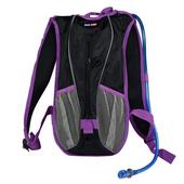 Plecak rowerowy BSL60 z bukłakiem fioletowy