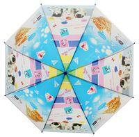 Parasolka dziecięca duża, automatyczna, kotki