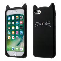 Etui do iPhone 5 5S SE KOT 3D Kocie Uszy WĄSY Kot