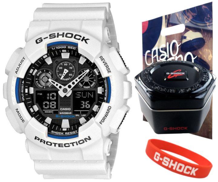 Zegarek Casio G-SHOCK GA-100B-7AER 20BAR hologram zdjęcie 1