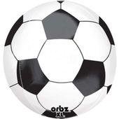 Balon foliowy 40 cm KULA PIŁKA NOŻNA piłkarski