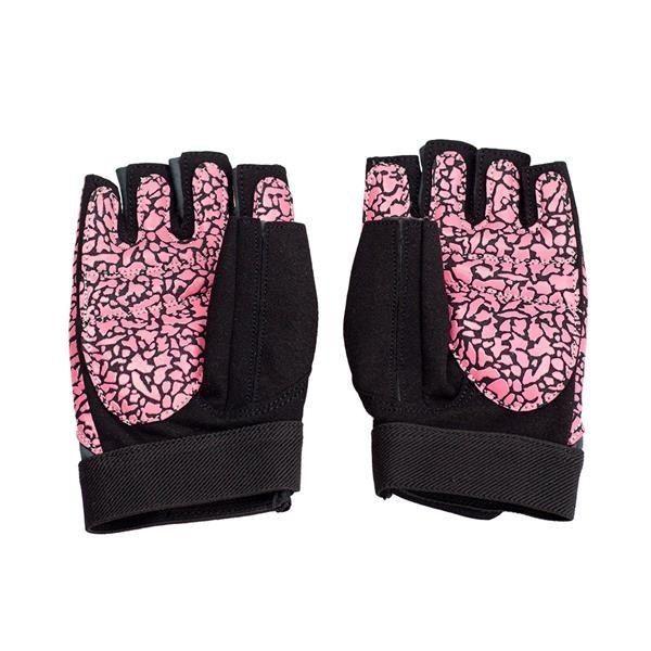 Rst03 Pink/gray Rozm. S Rękawice Na Siłownię Hms zdjęcie 2