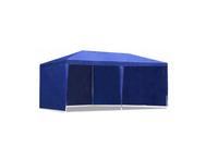 Pawilon Ogrodowy Automatyczny Niebieski Namiot Wytrzymały 3X6 XXL