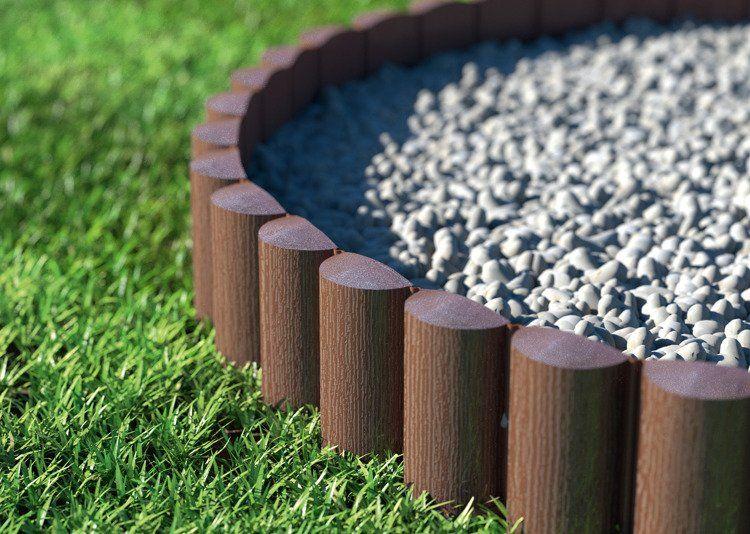 Cellfast Palisada ogrodowa ECO 8 elementów - 2,4m zdjęcie 3