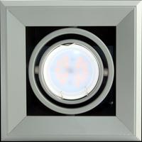 Lampa wpustowa 1xGU10 BLOCCO Milagro Kolor produkty - szary