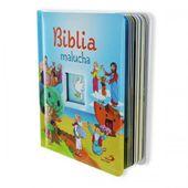 OBSERWUJ Biblia malucha PREZENT dla dziecka Chrzest GRAWER zdjęcie 2