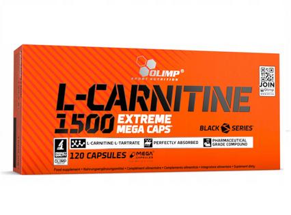 Spalacz tłuszczu L-Carnitine 1500 Extreme 120 kapsułek Olimp