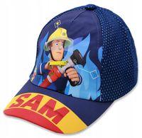 Czapka z daszkiem Strażak Sam Fireman 54 granatowa