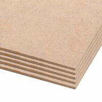 Tablice plakatowe DIN A1, 10 szt., płyta HDF, 841x594x3 mm