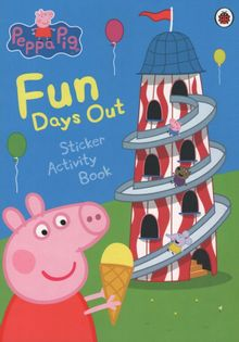 Peppa Pig Activity Book - Fun Days Out
