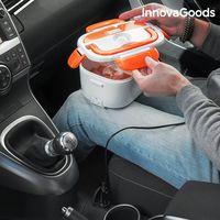 Elektryczny Samochodowy Pojemnik Na Lunch Innovagoods 40W 12 V Biało Pomarańczowy