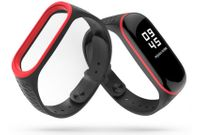 TECH-PROTECT SPORTY XIAOMI MI BAND 3/4 BLACK/RED