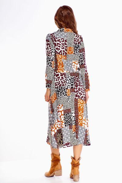 Sukienka w zwierzęcy wzór - Multikolor 40 zdjęcie 3