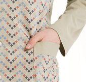 Piżama męska LUNA kod 797 rozpinana beżowy roz. XL zdjęcie 2
