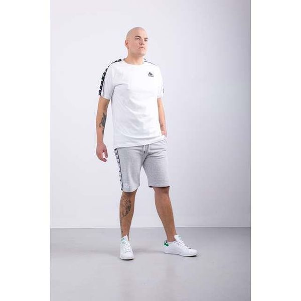 KOSZULKA KAPPA  EMANUEL T-SHIRT 001 WHITE (305001-001) XL White zdjęcie 3