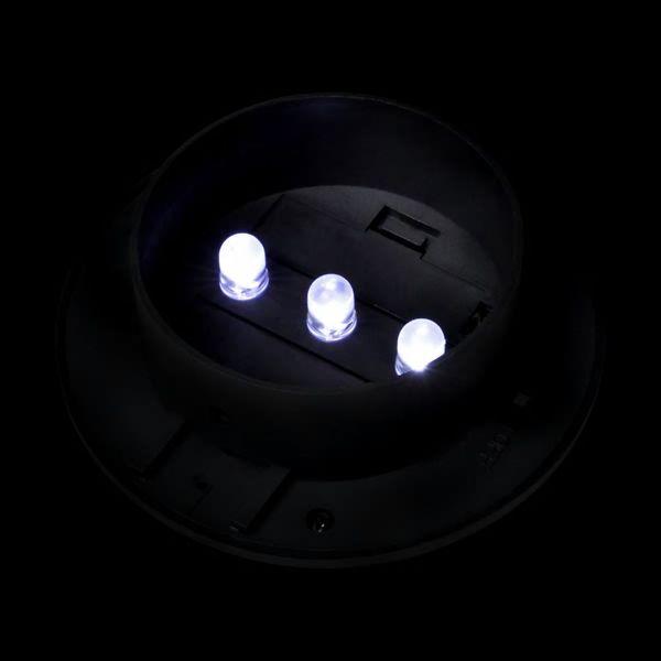 Lampy solarne, 6 sztuk, czarne zdjęcie 7