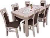 """Zestaw """"Finezja"""" stół i 6 krzeseł PROMOCJA!!!"""
