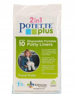 Potette Plus 10 Jednorazowych Wkładów Do Nocnika