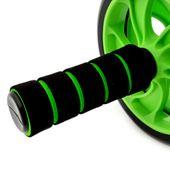 Podwójne Kółko do ćwiczeń roller zielony zdjęcie 6