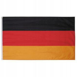 Flaga na maszt 90 x 150 cm Niemcy