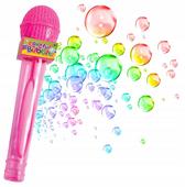 BAŃKI MYDLANE Mikrofon Zabawy Ogrodowe