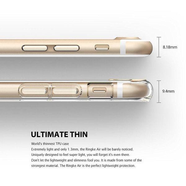 Etui Ringke Air iPhone 8 Plus / 7 Plus czarne zdjęcie 3