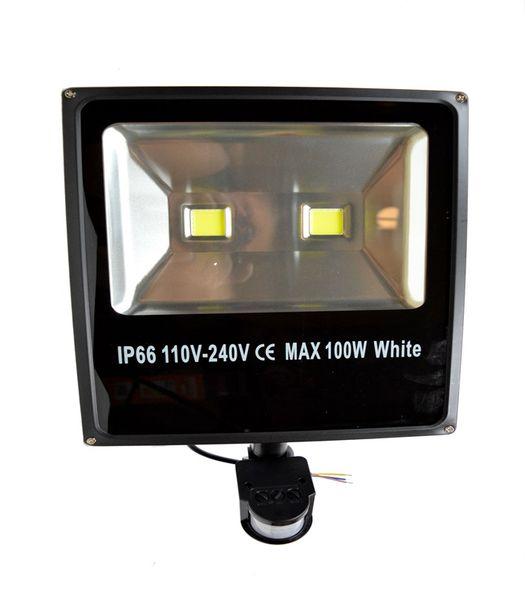 Halogen LED 100W czujnik ruchu zdjęcie 1