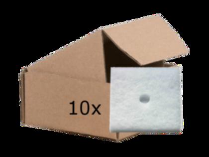 10x Filtry powietrza do wentylacji 13,5x13,5cm, typ Maico, zastępcze
