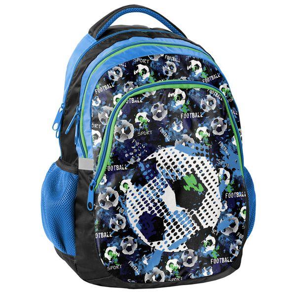 Lekki plecak szkolny Paso Football, piłka nożna zdjęcie 1