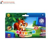 Kredki świecowe 24 kolory Astrino Astra 316115002