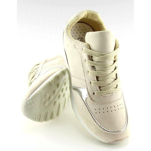 Buty sportowe beżowe LR88082 Beige r.38 zdjęcie 6