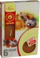Duże podgrzewacze Tealight Maxi a'6 Opium