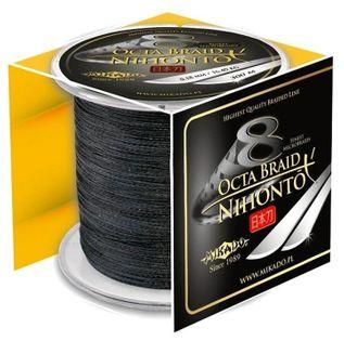MIKADO PLECIONKA CARP OCTA BRAID BLACK 0,16mm 600m