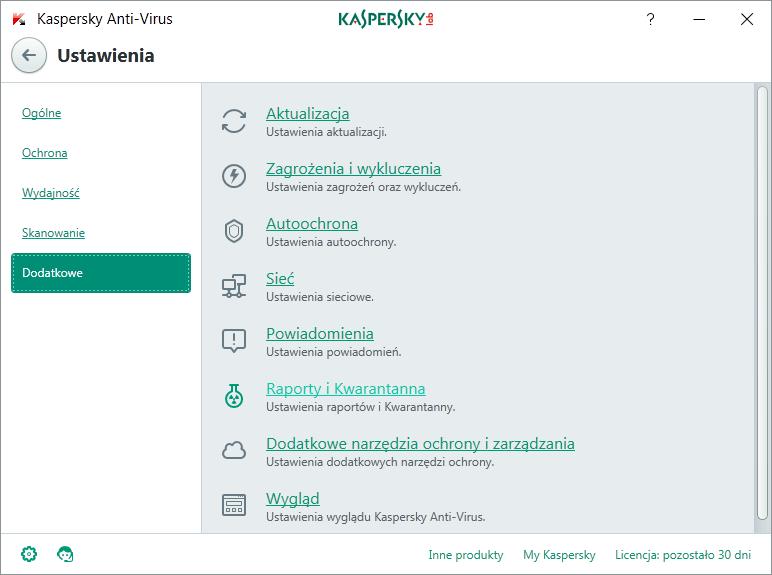 Kaspersky Anti-Virus 2 komputery / 1 rok na Arena.pl