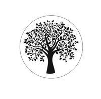 STE223 Stempel - drzewo wiosenne