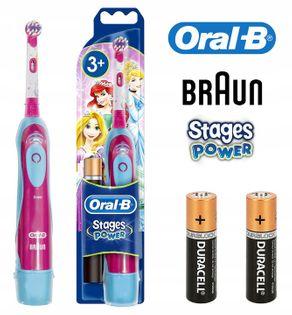 Szczoteczka elektryczna Braun ORAL-B DLA DZIECI +TIMER / Księżniczka