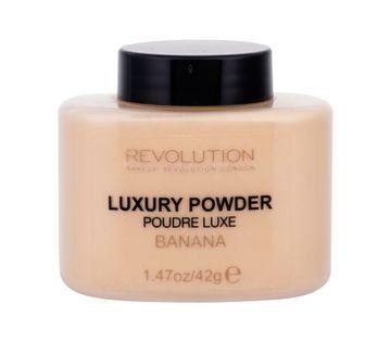 Makeup Revolution London Luxury Powder Puder 42g Banana