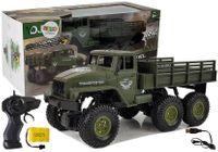 Ciężarówka Auto Zdalnie Sterowane 1:18 Wojskowe Zielone