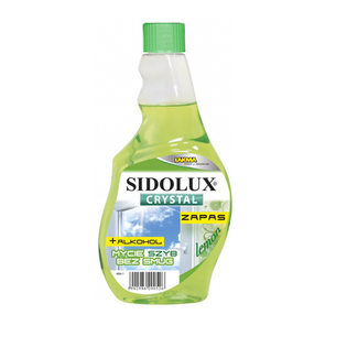Sidolux Płyn do mycia szyb Crystal Lemon ZAPAS 500ml