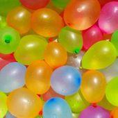 BALONY BOMBY WODNE 100 szt BALONY NA WODĘ BOMBY MIX KOLORY