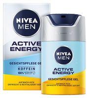Nivea Men Active Energy Energetyzujący Krem-Żel Do Twarzy 50Ml
