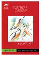 Blok szkicowy A4 HAPPY COLOR Młody Artysta 90g