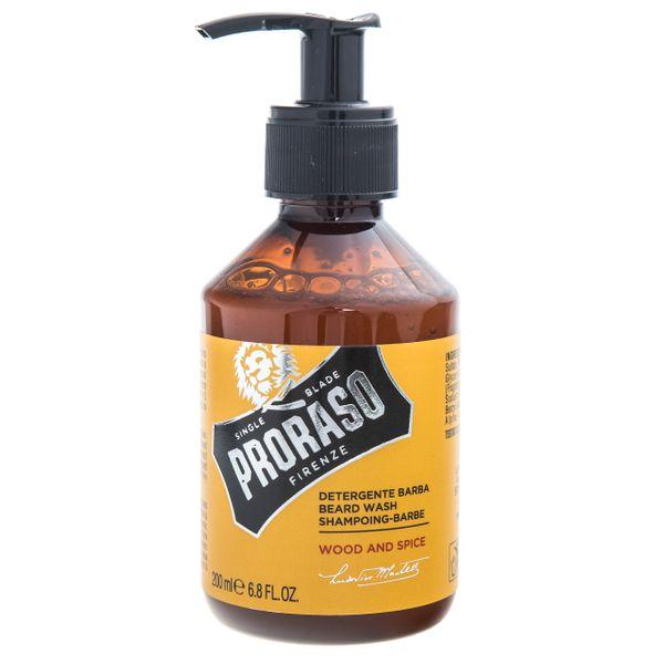 PRORASO Zestaw kosmetyków do brody Wood & Spice szampon i balsam na Arena.pl