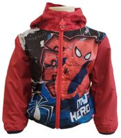 Kurtka wiosenna przeciwdeszczowa Spider-Man r98 3Y Marvel (DHQ1423)